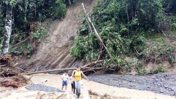 Fuertes lluvias en la región Huánuco