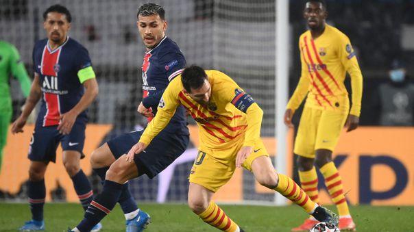 Barcelona y PSG jugaron un entretenido partido en Parque de los Príncipes.