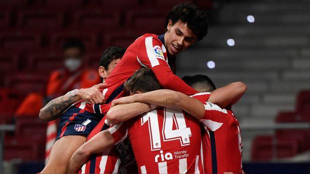 Atlético venció 2-1 al Athletic por la fecha 18 de LaLiga