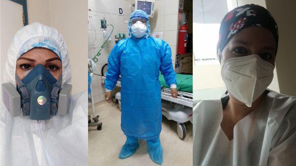 Médicos peruanos