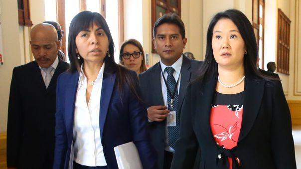 Fiscal José Domingo Pérez pide 30 años y 10 meses de prisión para Keiko Fujimori