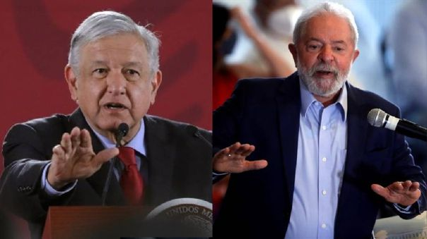 López Obrador expresó su apoyo a Lula da Silva