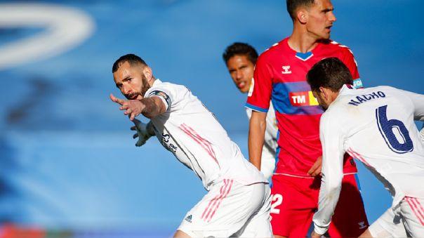VER GOL Real Madrid vs. Elche: Karim Benzema marcó el empate 1-1 para los  merengues en el Alfredo Di Stéfano | LaLiga 2021 | ESPAÑA | RPP Noticias