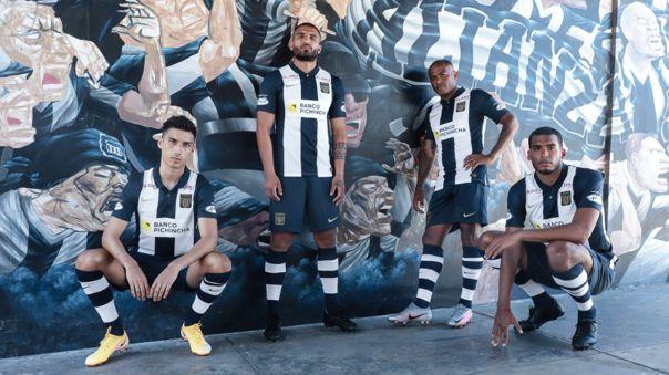 Alianza Lima presentó su uniforme para el 2021