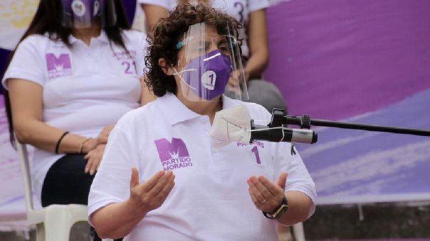 Susel Paredes se sumó al Partido Morado desde septiembre de 2020.