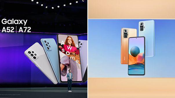 Samsung y Xiaomi presentaron sus propuestas para la gama media.