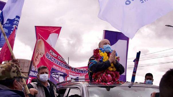 Hernando de Soto, candidato presidencial de Avanza País