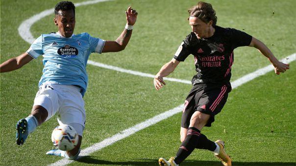Real Madrid venció 3-1 a Celta de Vigo por la fecha 28 de LaLiga