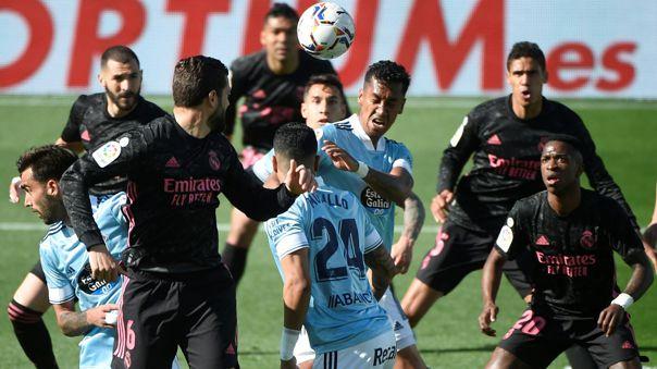 Real Madrid y Celta de Vigo se enfrentaron por la fecha 28 de LaLiga