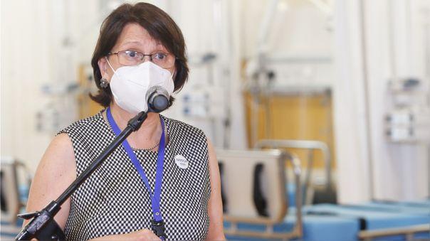 Exministra de Salud Pilar Mazzetti