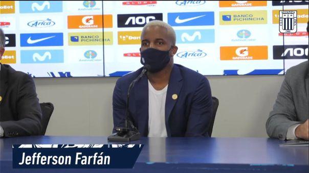 Jefferson Farfán fichó por dos temporadas