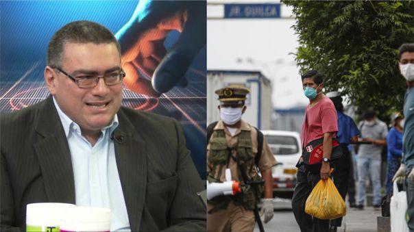 Durán es el encargado del plan económico del partido Renovación Popular.