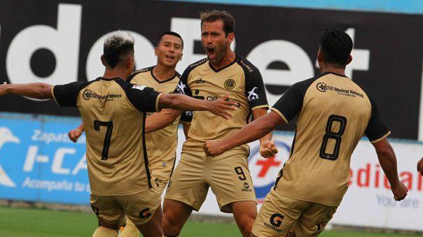 Mauricio Montes convirtió el 1-0 ante Alianza Lima