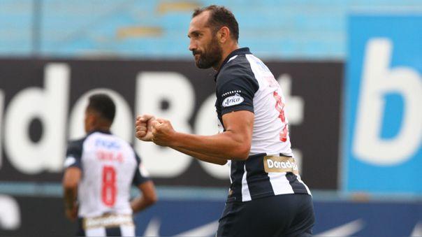Hernán Barcos marcó su primer gol con Alianza Lima