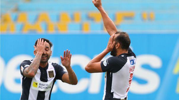 Hernán Barcos anotó su primer gol con la camiseta de Alianza Lima.