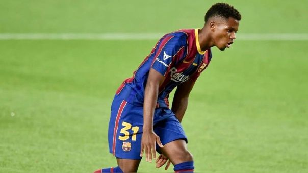 Ansu Fati no juega de noviembre del 2020