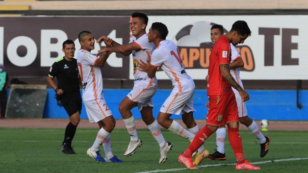 Ayacucho FC derrotó a Sport Huancayo por la Liga 1 Betsson