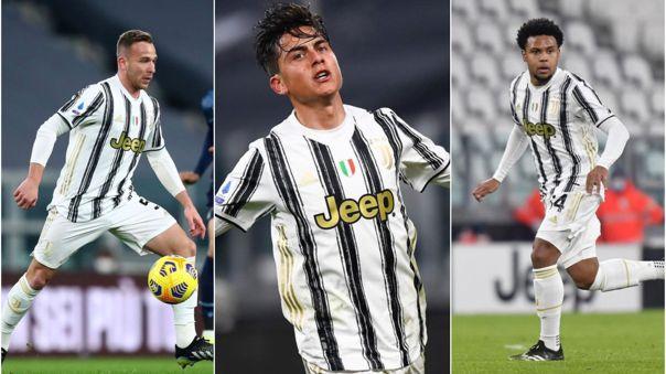 Dybala, Arthur y McKennie envueltos en una polémica en Juventus