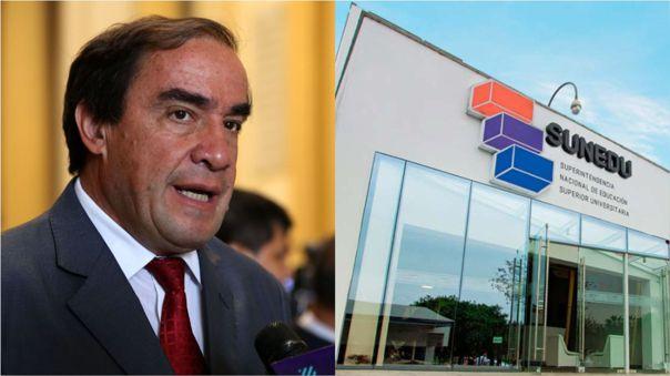 Durante el debate electoral Rafael Santos puso en duda una maestría del candidato Yonhy Lescano.