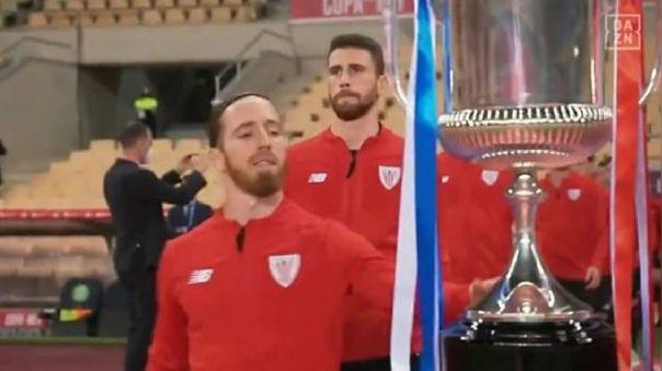 Iker Muniain se quedó con las ganas de levantar la Copa del Rey.