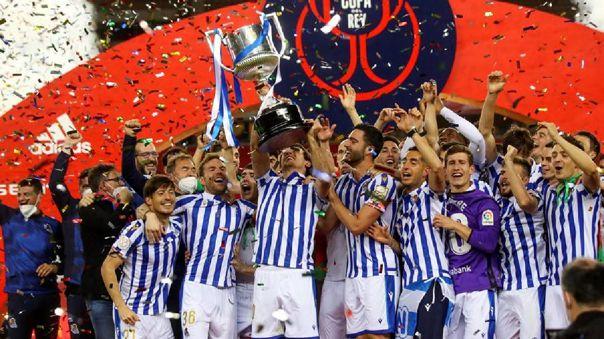 Real Sociedad logró una histórica Copa del Rey frente al Athletic Club.