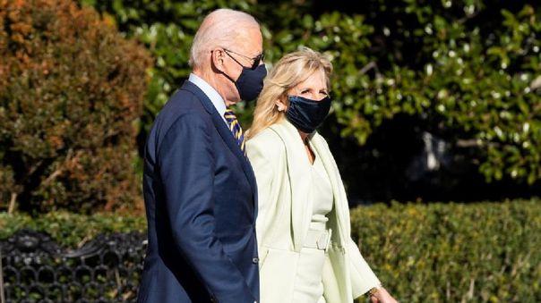 El presidente de Estados Unidos, Joe Biden y la primera dama, Jill Biden.