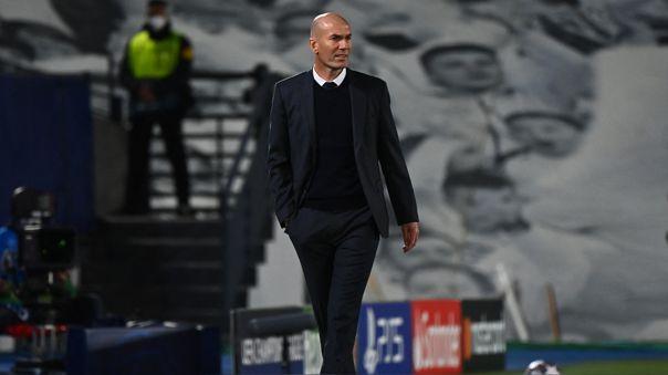 Zinedine Zidane va por su cuarta Champions League en Real Madrid como director técnico.