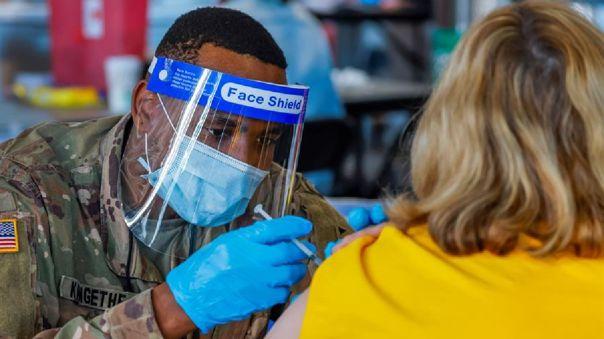 Estados Unidos suma además al menos 386 infecciones de la variante sudafricana.