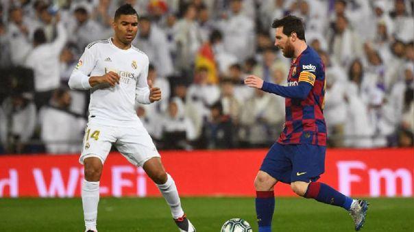 Real Madrid y Barcelona chocan este sábado por LaLiga Santander.