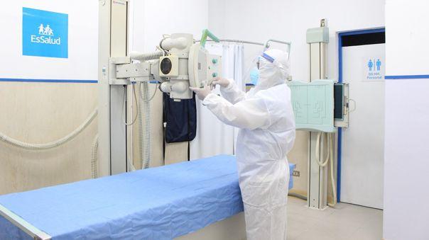 La renovada infraestructura tiene un área de 104 m2 y se encuentra en el primer piso de este establecimiento de salud.
