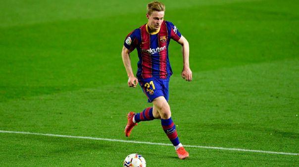 Frenkie De Jong llegó a Barcelona en 2019