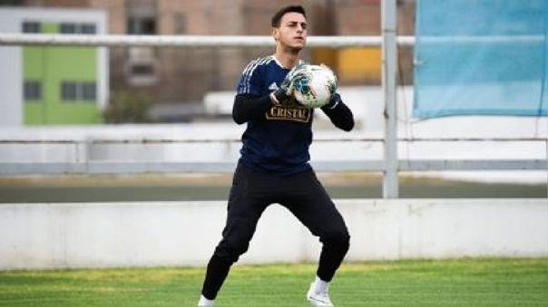 Alejandro Duarte se sumó a inicios de temporada a Sporting Cristal.