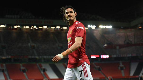 Edinson Cavani termina contrato en Manchester United a fin de temporada.