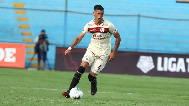 Federico Alonso debutó en la Copa Libertadores con Universitario