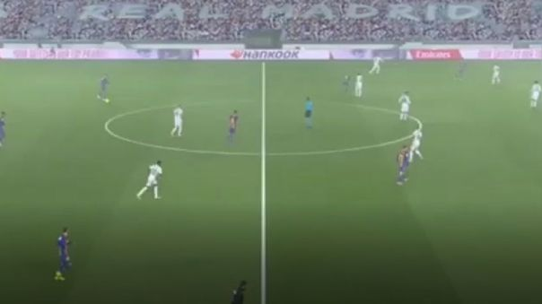 La lluvia no afectó el normal desarrollo del Clásico entre Real Madrid y Barcelona.