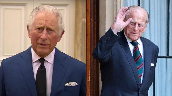 Príncipe Carlos y Felipe de Edimburgo