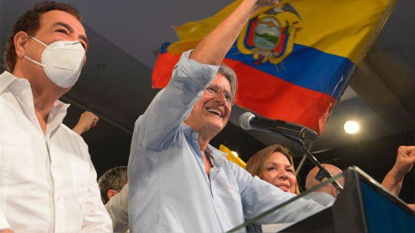 ECUADOR-ELECTION-RUNOFF-LASSO-SUPPORTERS