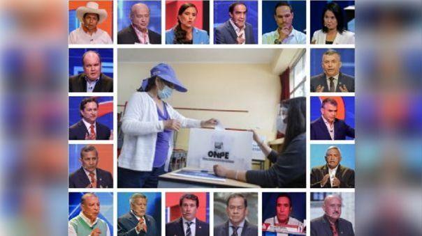 Candidatos realizan tradicional desayuno electoral pese a la pandemia.