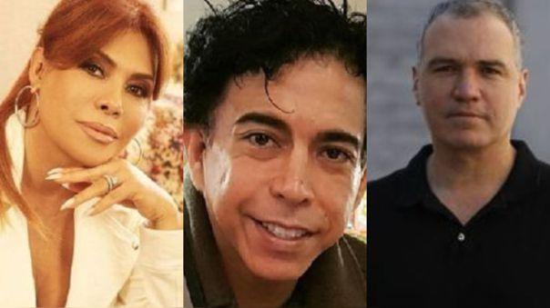 Magaly Medina, Ernesto Pimentel, Salvador del Solar
