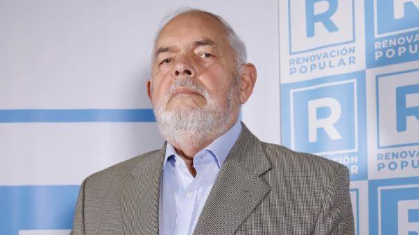 Almirante Jorge Montoya, candidato al Congreso por Renovación Popular.
