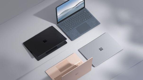 La Surface Laptop 4 llega en dos tamaños.