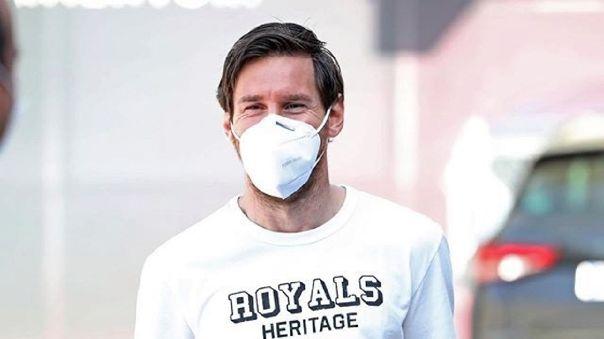 Lionel Messi ayudó, a su estilo, para gestión de vacunas para Conmebol.