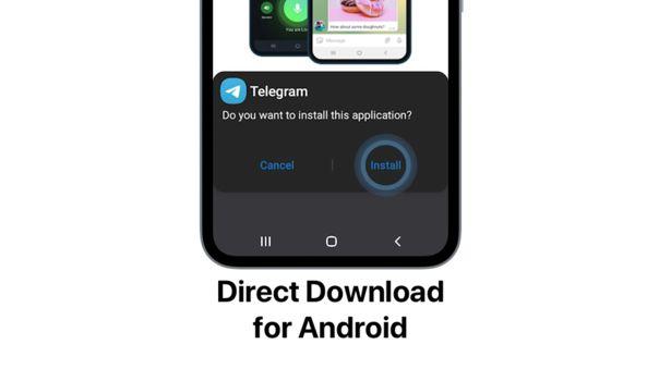 Telegram permite la descarga directa de su app