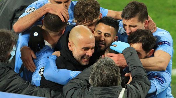 Manchester City llegó a semifinales de la Champions League