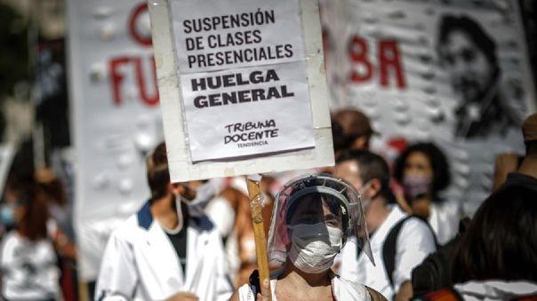 Las clases presenciales en Buenos Aires, al igual que en el resto de país, se suspendieron con el inicio de la pandemia el 16 de marzo de 2020.