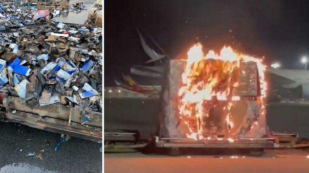 Imágenes del incidente en Hong Kong.