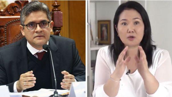 José Domingo Pérez Gómez / Keiko Fujimori