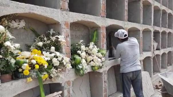 Cementerio de Ferreñafe ya casi no tiene capacidad para recibir fallecidos por la COVID-19.