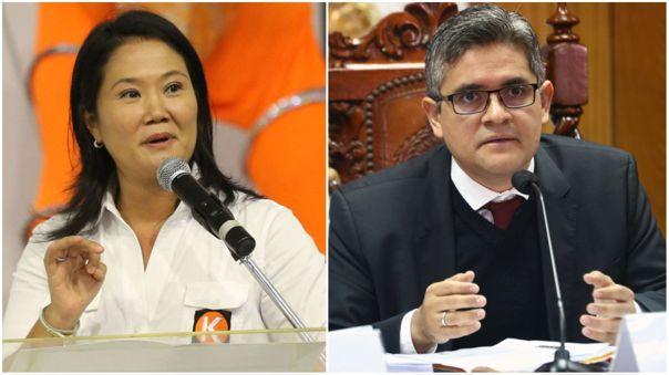 """Elecciones 2021   Keiko Fujimori espera que el fiscal José Domingo Pérez """"mantenga la independencia y objetividad""""   RPP Noticias"""