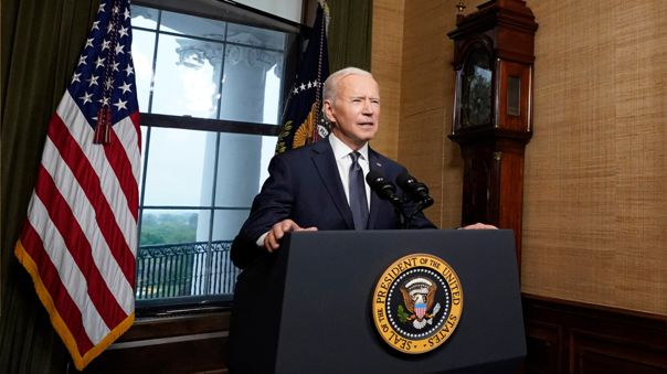 US-PRESIDENT-BIDEN-DELIVERS-ADDRESS-ON-AFGHANISTAN-FROM-WHITE-HO